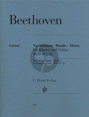 Beethoven Variationen-Rondo-Tanze (Henle-Urtext)