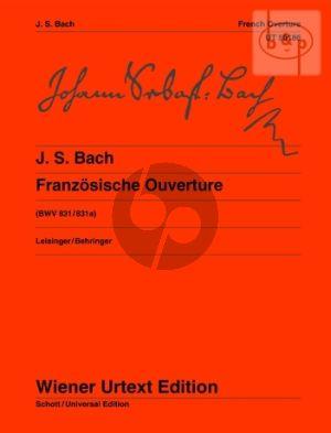 Bach Franzosische Ouverture BWV 831 / 831A