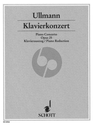 Ullmann Konzert Op. 25 Klavier und Orchester (Klavierauszug)