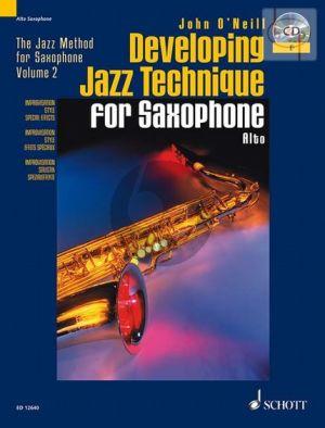 Developing Jazz Technique (Alto Sax.)
