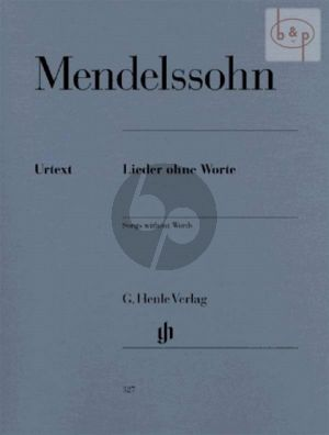 Lieder ohne Worte (edited by Rudolf Evers and Ernst Herttrich)