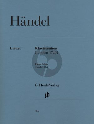 Handel Suiten No.1 - 8 (London 1720) (Henle-Urtext)