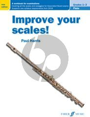 Harris Improve your Scales for Flute Grades 1 - 3