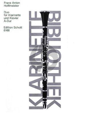 Hoffmeister Duo A-dur Klarinette und Klavier (Doris Stofer)