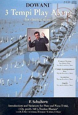 "Introduktion & Variations ""Trockene Blumen"" D.802 (Op.posth.160)"