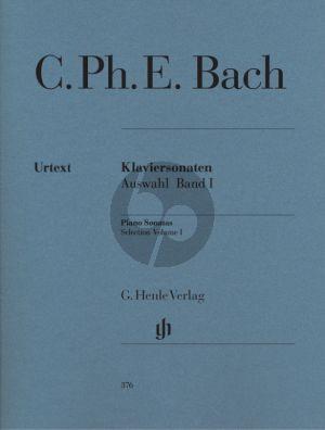 Bach Sonaten Auswahl Vol.1 Klavier (Herausgegeben von Darrell M. Berg, Fingersatz Klaus Börner) (Henle-Urtext)