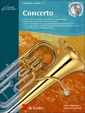 Concerto for Euphonium / Baritone (2 Solo Pieces with Wind Ens. Accomp) (TC/BC)