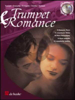 Trumpet & Romance (10 Romantic Pieces) (Book with Play-Along and Demo CD)