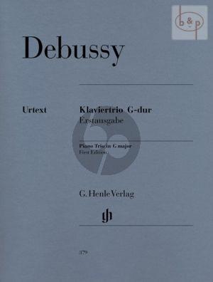 Debussy Trio G-dur Vi.-Vc.-Piano (Henle)