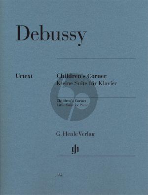 Debussy Children's Corner (edited by E.G. Heinemann) (fingering by H.M. Theopold) (Henle-Urtext)