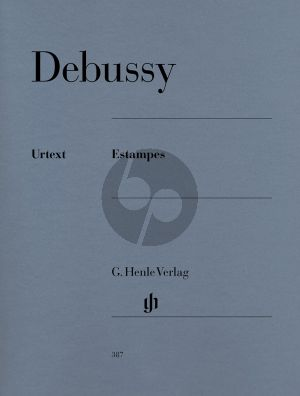 Debussy Estampes (edited by E.G. Heinemann) (fingering by H.M. Theopold) (Henle-Urtext)