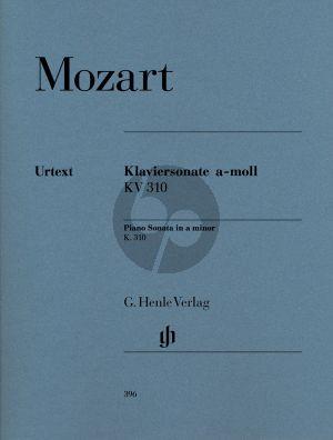 Mozart Sonate a-moll KV 310 Klavier (Ernst Herttrich)