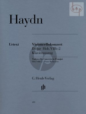 Haydn Concerto D-major (Hob.VIIb:2) Violoncello-Orchestra (piano red.) (edited by Sonja Gerlach)