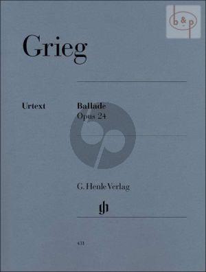 Ballade g-moll Op.24 Piano