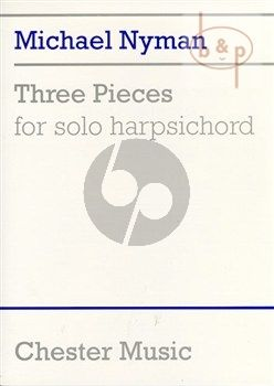 3 Pieces for Solo Harpsichord