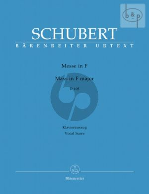 Messe F-major D.105 (SSATTB soli-SATB-Orch.)