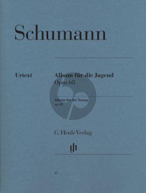 Schumann Album für die Jugend Op.68 Piano (edited by Ernst Herttrich) (Henle-Urtext)