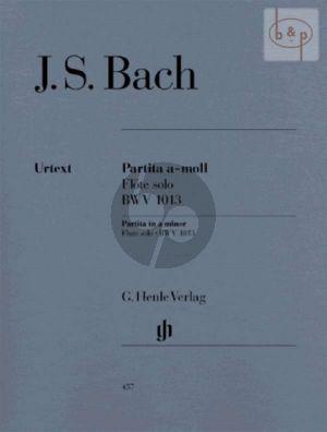 Bach Partita a-moll BWV 1013 Flöte solo (Hans Eppstein)
