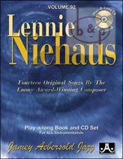 Jazz Improvisation Vol.92 Lennie Niehaus