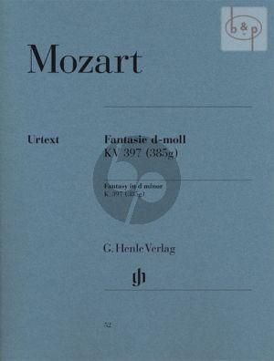 Fantasie d-moll KV 397 (385g) Klavier