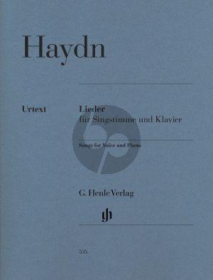 Haydn Lieder Singstimme mit Klavier (ed. Marianne Helms und Paul Mies (Henle) )