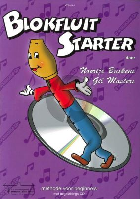 Buskens-Masters Blokfluit Starter Vol.1 (Methode voor Beginners) (Bk-Cd)
