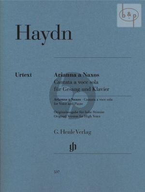Arianna a Naxos Hob.XXVIb:2 (Cantate a Voce Sola) (original version High Voice)