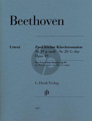 Beethoven 2 leichte Sonaten Opus 49 No.1 - 2 Klavier (Norbert Gertsch)
