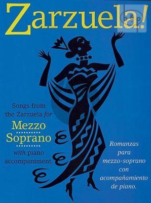 Zarzuela Songs Mezzo-Soprano with Piano
