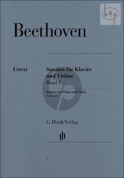 Beethoven Sonaten Vol.1 edited by Sieghard Brandenburg fingering by Theopold and Rostal Henle-Urtext