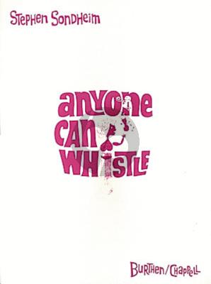 Sondheim Anyone Can Whistle (Musical 1964 Vocalscore)
