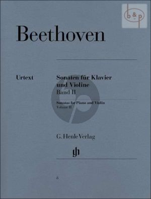 Beethoven Sonaten Vol.2 edited by Sieghard Brandenburg fingering by Theopold and Rostal Henle-Urtext