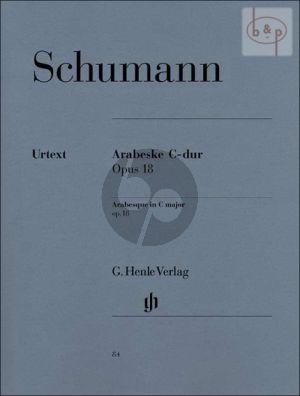 Arabeske C-dur Op.18 (edited by Ernst Herttrich)