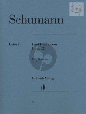 3 Romanzen Op. 28 Klavier