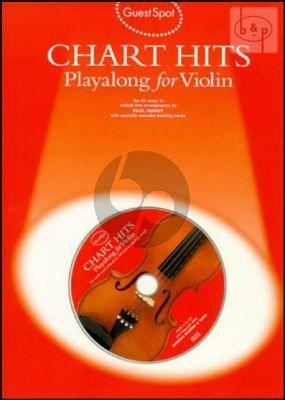 Guest Spot Chart Hits Playalong (Violin)