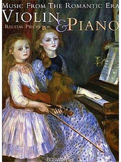 Album Music from the Romantic Era (Recital Pieces) (for Violin and Piano)