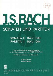Sonaten-Partiten No.2 BWV 1003 - 1004