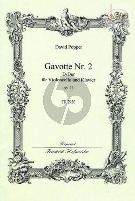 Popper Gavotte No.2 Op.23