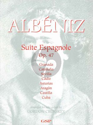 Albeniz Suite Espagnole Op.47 Guitar solo (Crosskey)