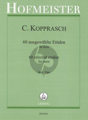 Kopprasch 60 Etuden vol.1 Horn