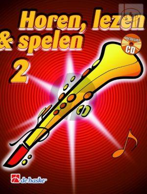Horen, Lezen & Spelen Vol.2 Methode Sopraansax