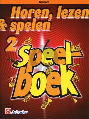 Oldenkamp-Kastelein Horen, Lezen & Spelen Vol.2 Speelboek Klarinet