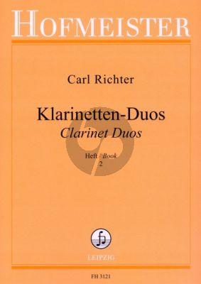 Richter Klarinetten Duos Vol.2