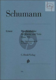Marchenbilder (4 Pieces) Op.113 Viola and Piano