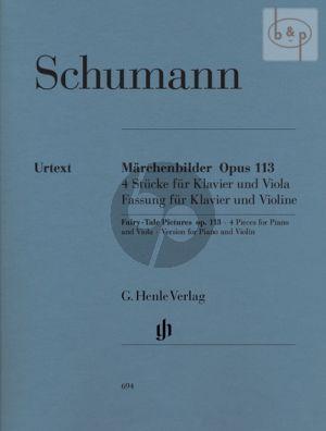 Marchenbilder op.113 Violine und Klavier  (edited by Wiltrud Haug-Freienstein)