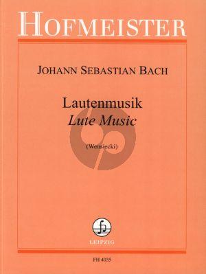Bach Lautenmusik (Wensiecki)