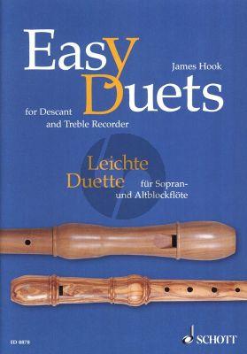 Hook Easy Duets 2 Recorder (SA) (Hans Magolt)