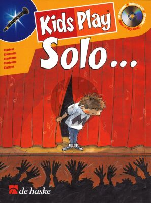 Goedhart Kids Play Solo for Clarinet Bk-Cd (very easy to easy)