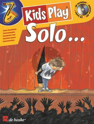 Goedhart Kids Play Solo for Tenor Saxophone (Bk-Cd) (very easy to easy)