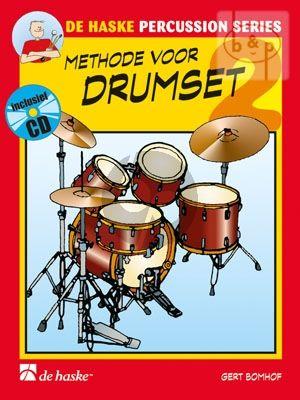 Bomhof Methode voor Drumset Vol. 2 (Bk-Cd)